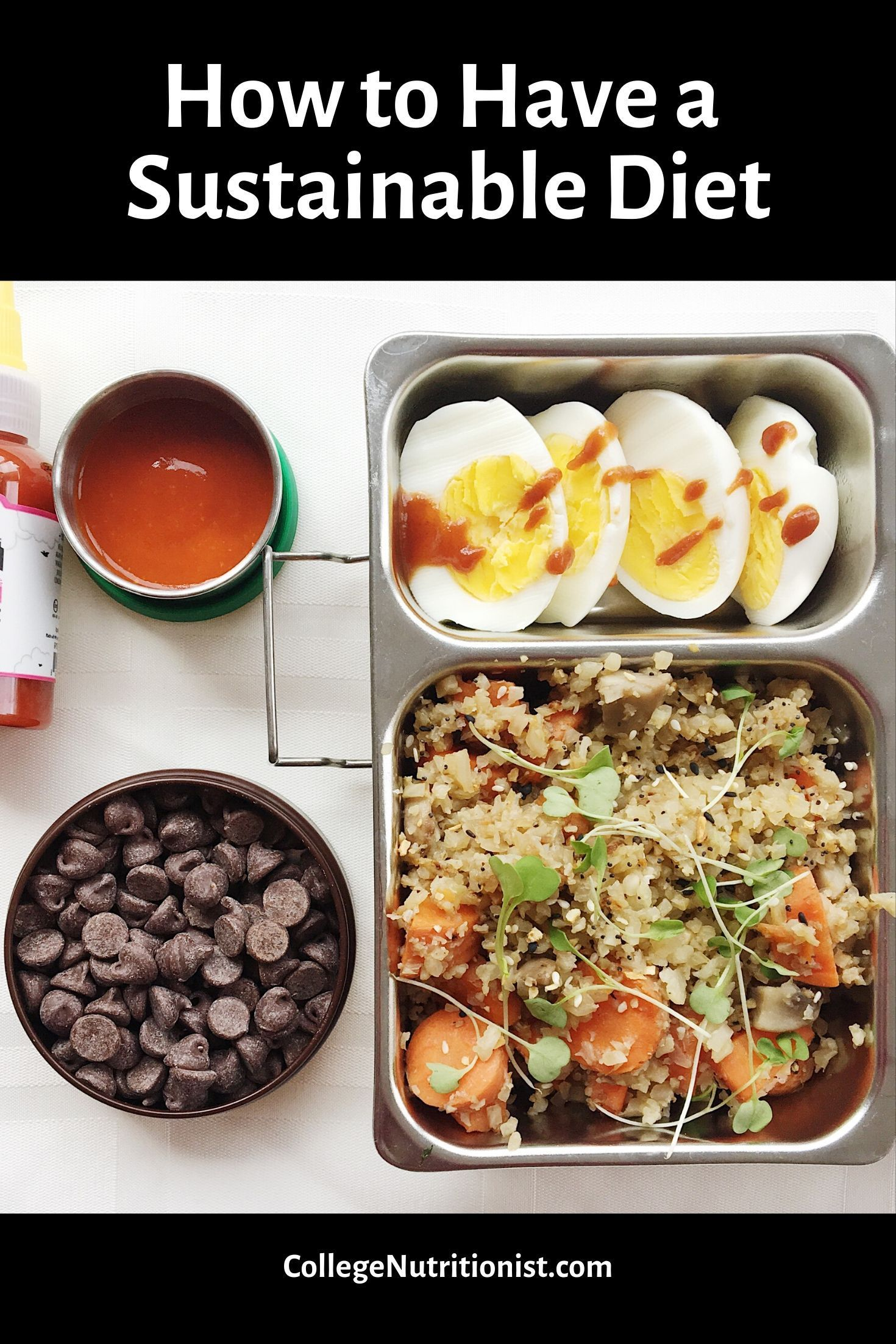 Sustainable Diet Choices   Healthy recipes, College food ...