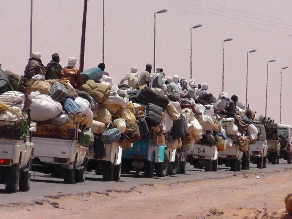 الهجرة الغير شرعيه ليبيا