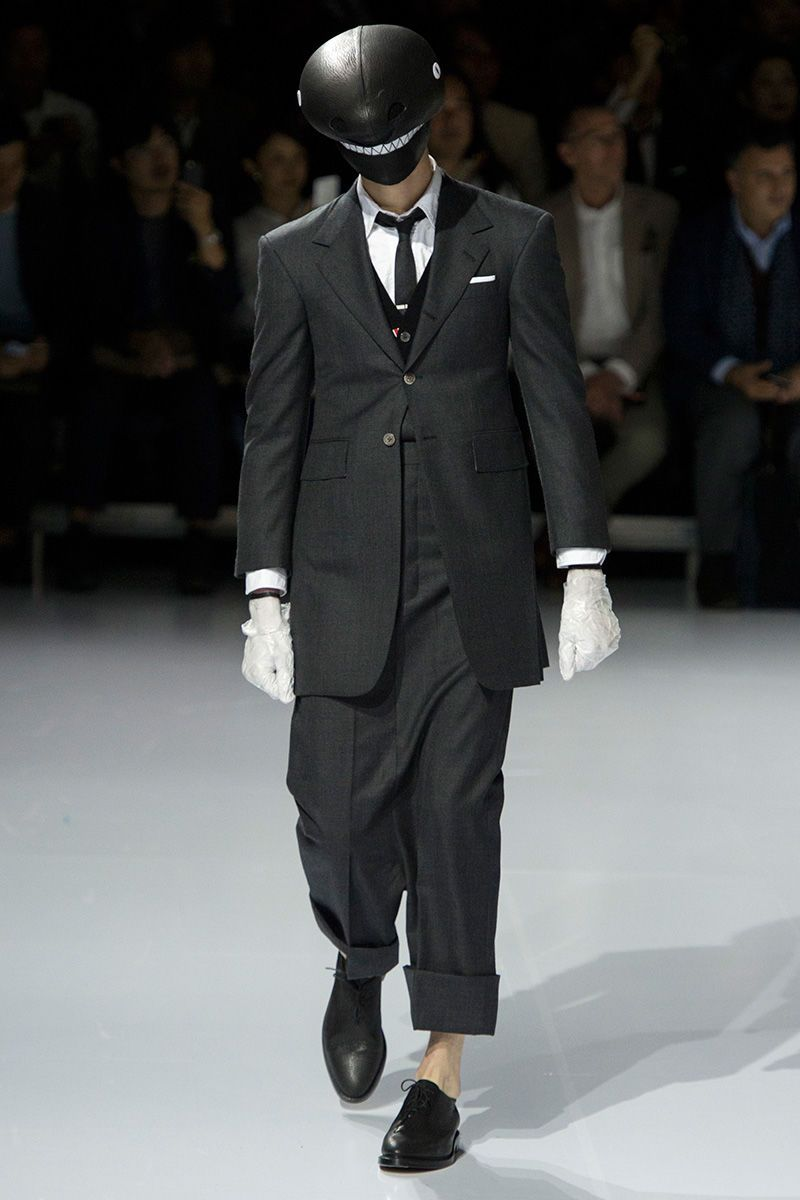 Avian-Themed Menswear Collections : Thom Browne Runway