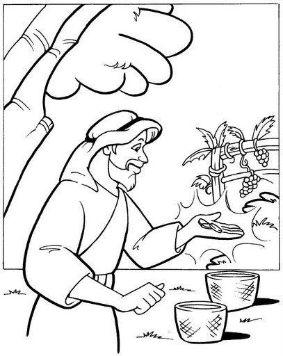 A Vineyard Worker S Wages Matthew 20 Bible Activities