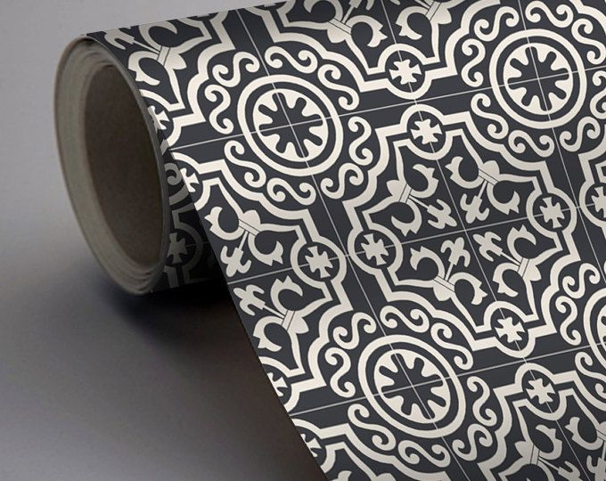 Patchwork Mix Wallpaper in Rose Removable Vinyl Wallpaper – Splashback Sticker – Kitchen Mural Decal