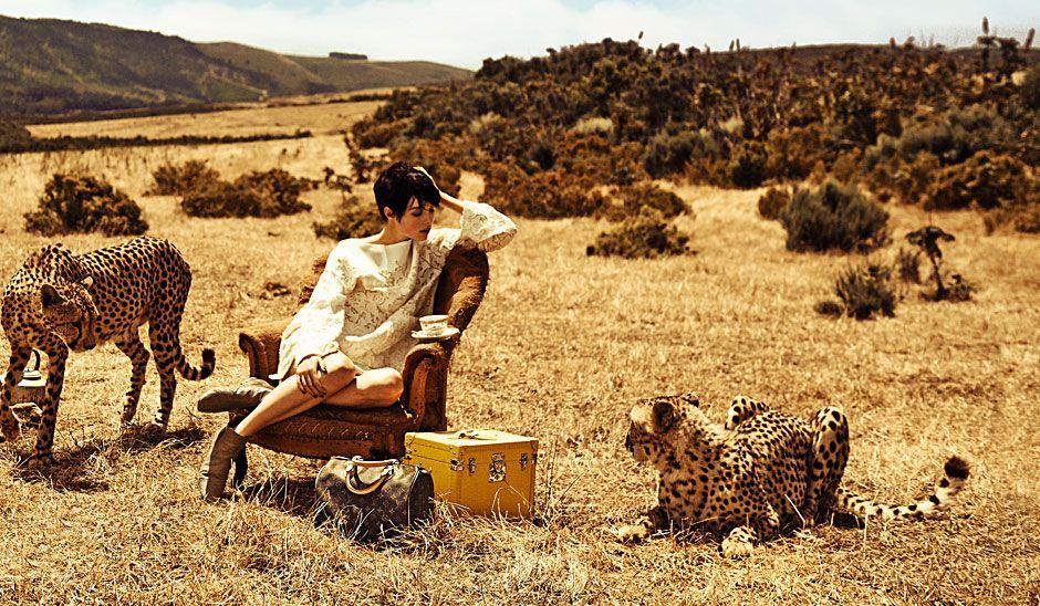 Um Safari pelo Mundo Louis Vuitton - Elle Portugal