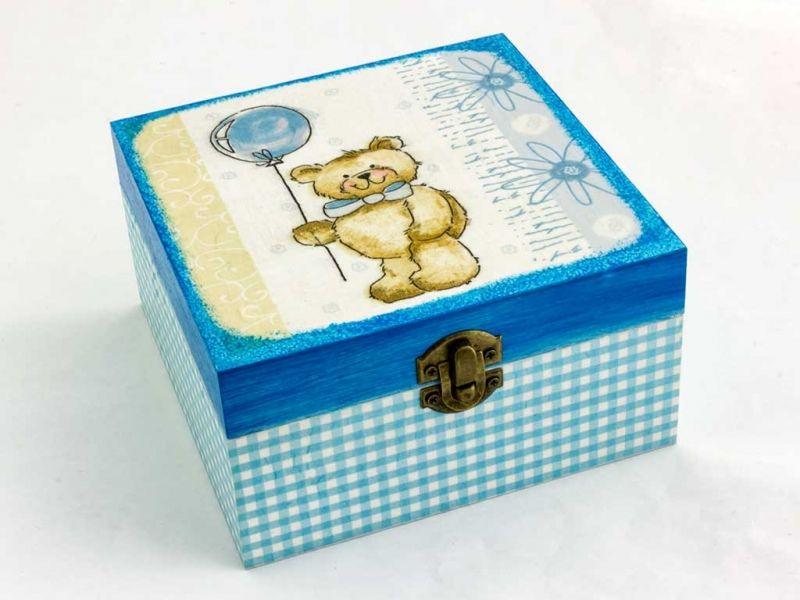 idézetek babaváráshoz Macis kék babaváró fa doboz | Jewelry stand, Decorative boxes