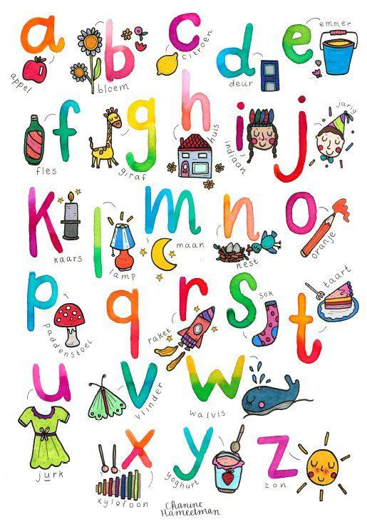A2 poster - Onderbouw - het Alfabet