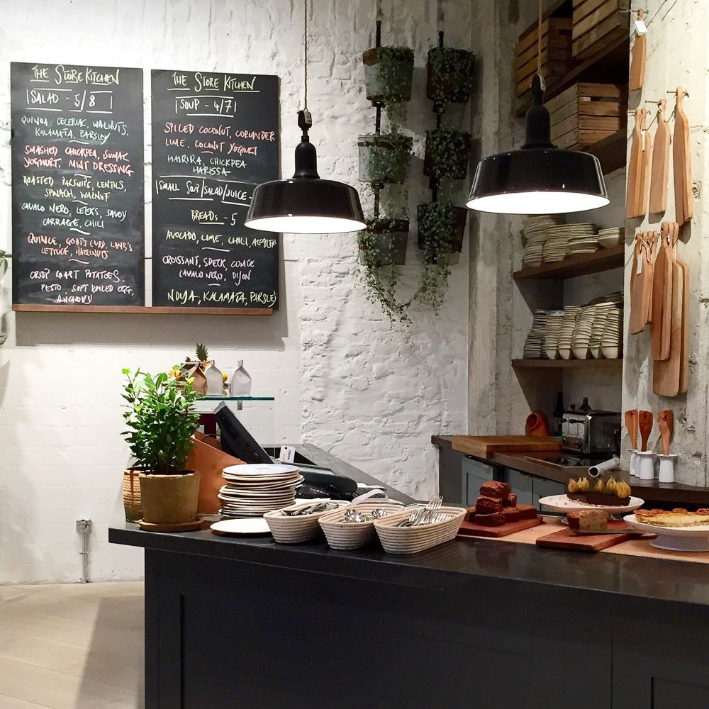 image result for the store soho house berlin interior kitchen food