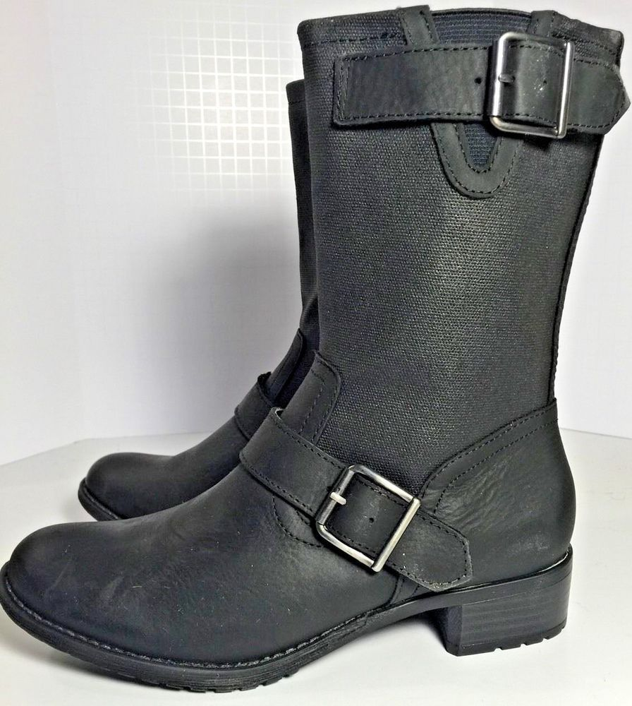 d96bfea44fa New Hush Puppies LOLA Chamber Motorcycle Boots Waterproof Women's ...