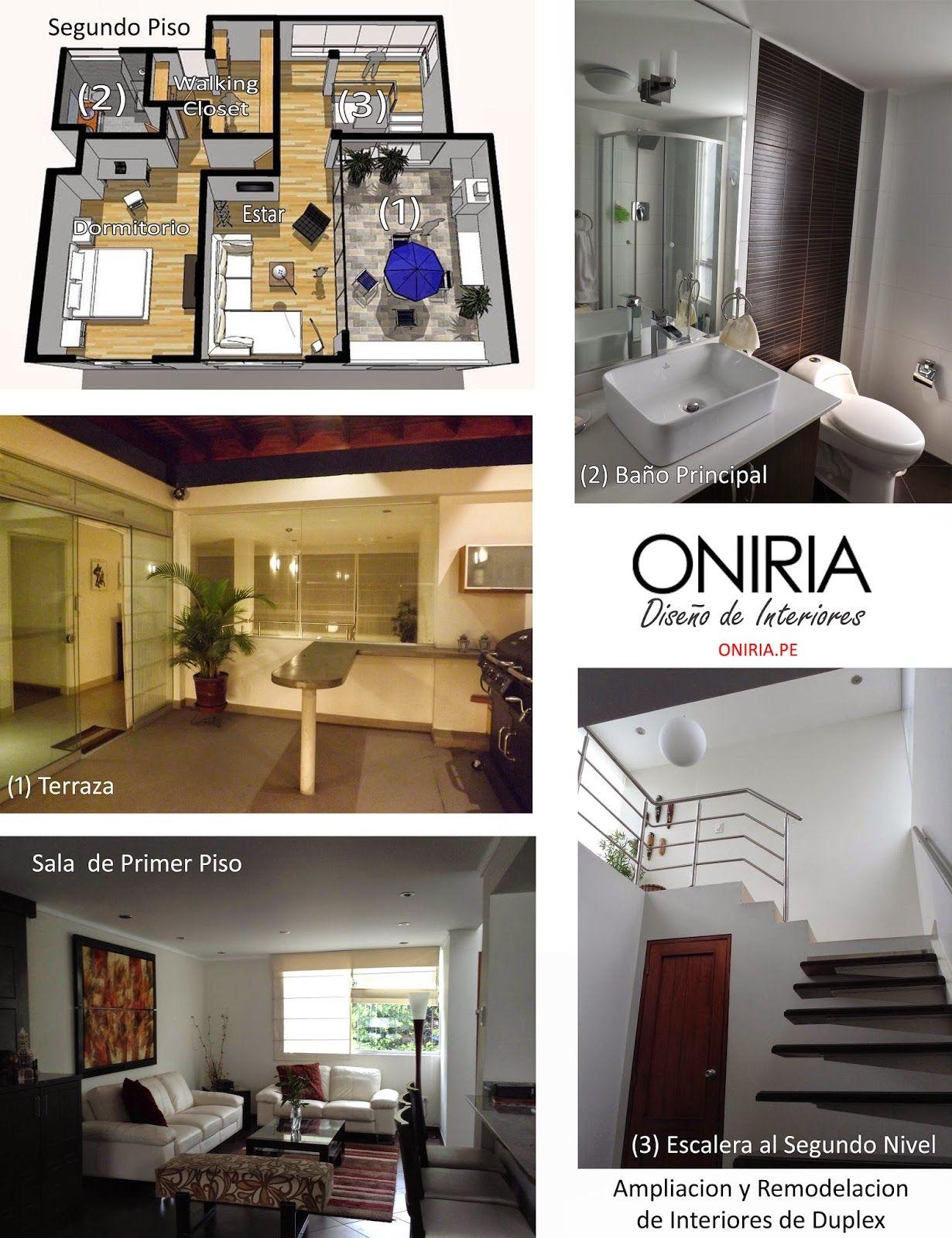 Remodelacion y ampliacion de departamento remodelaciones for Diseno de interiores lima