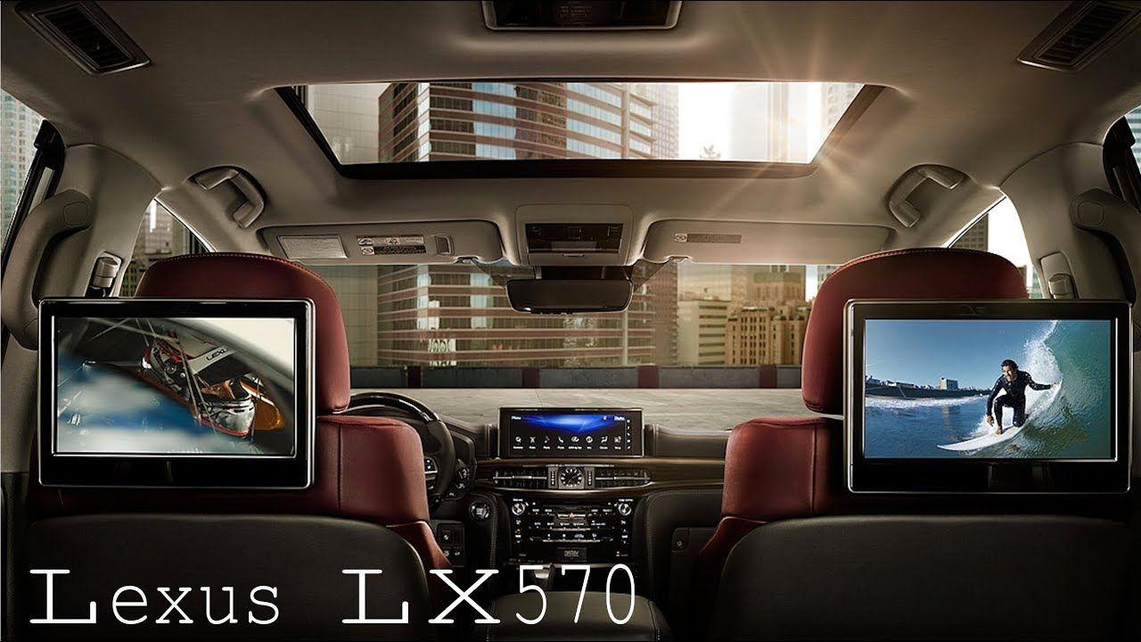 2018 Lexus Luxury SUV LX 570 INTERIOR
