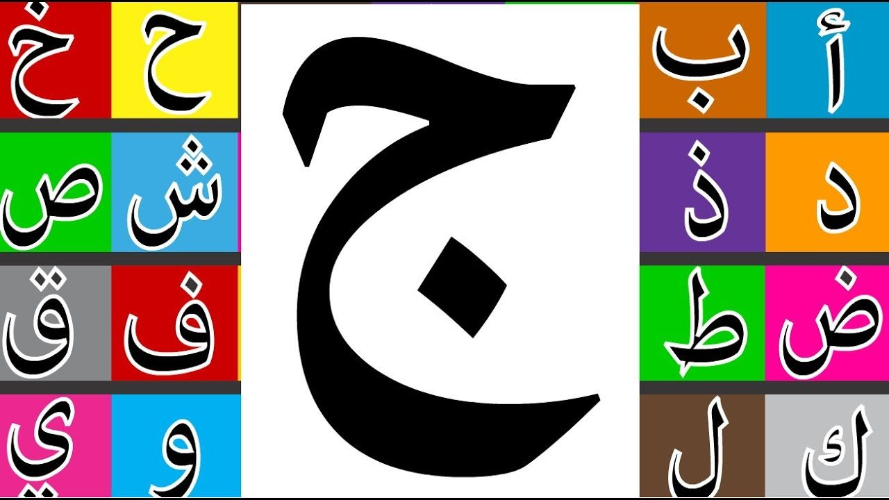 Learn How To Write Arabic Letter ج Jim طريقة كتابة حرف الجيم طريقة Write Arabic Learning Arabic Lettering