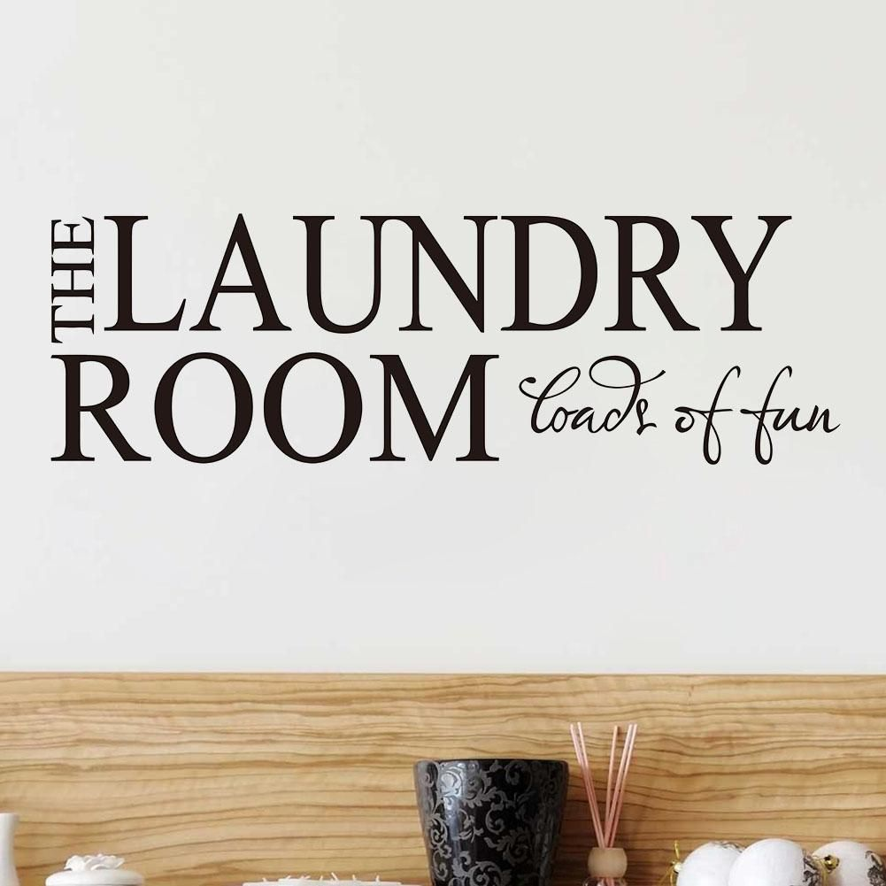 The Laundry Room Loads Of Fun Decal Brilliant Loadsoffun Laundryroom  The Laundry Room  Loads Of Fun Design Ideas