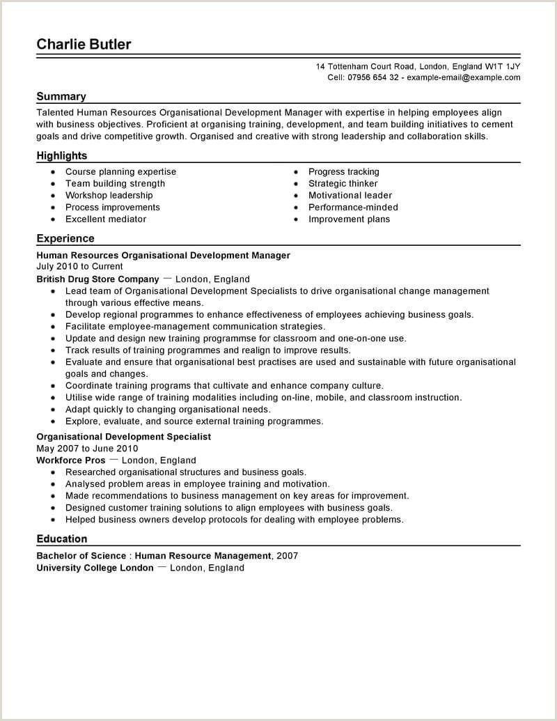 Job Resume Format In India
