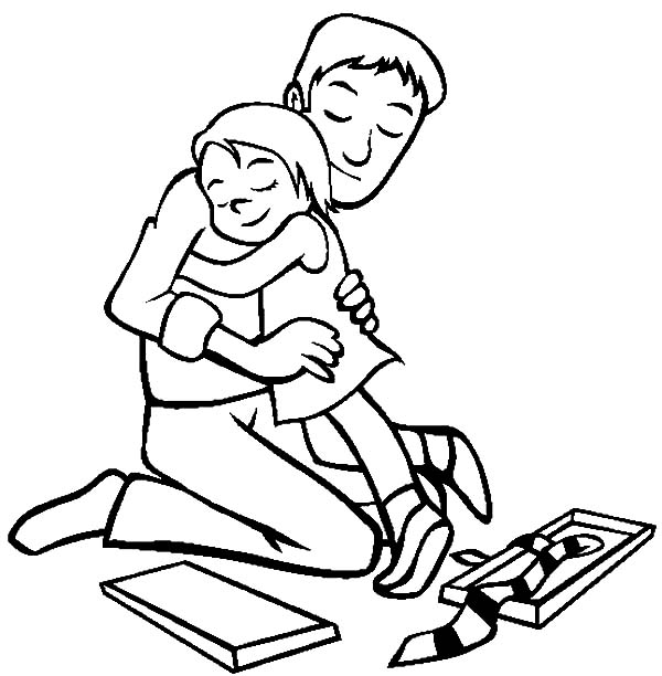 Hug Me Daddy I Love Dad Coloring Pages Coloring Sky I Love My Dad Love Dad Coloring Pages