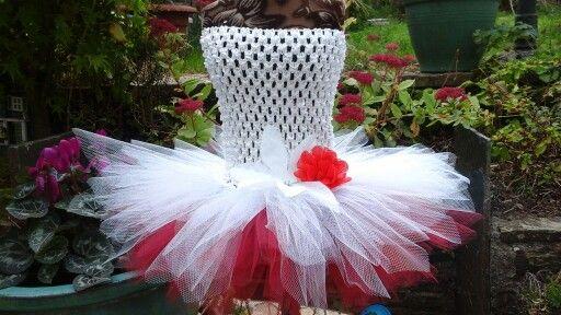 Poinsettia Tutu Dress by Tutuluscious