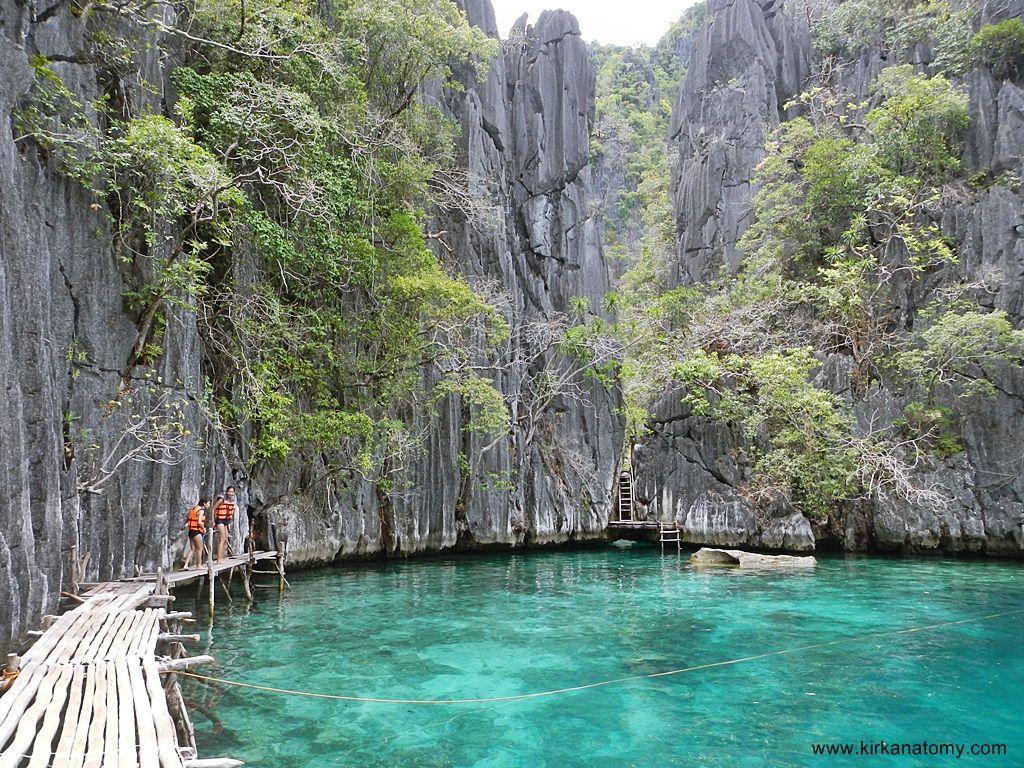 Entrance to the second lagoon, Twin Lagoon | Palawan - Coron ...