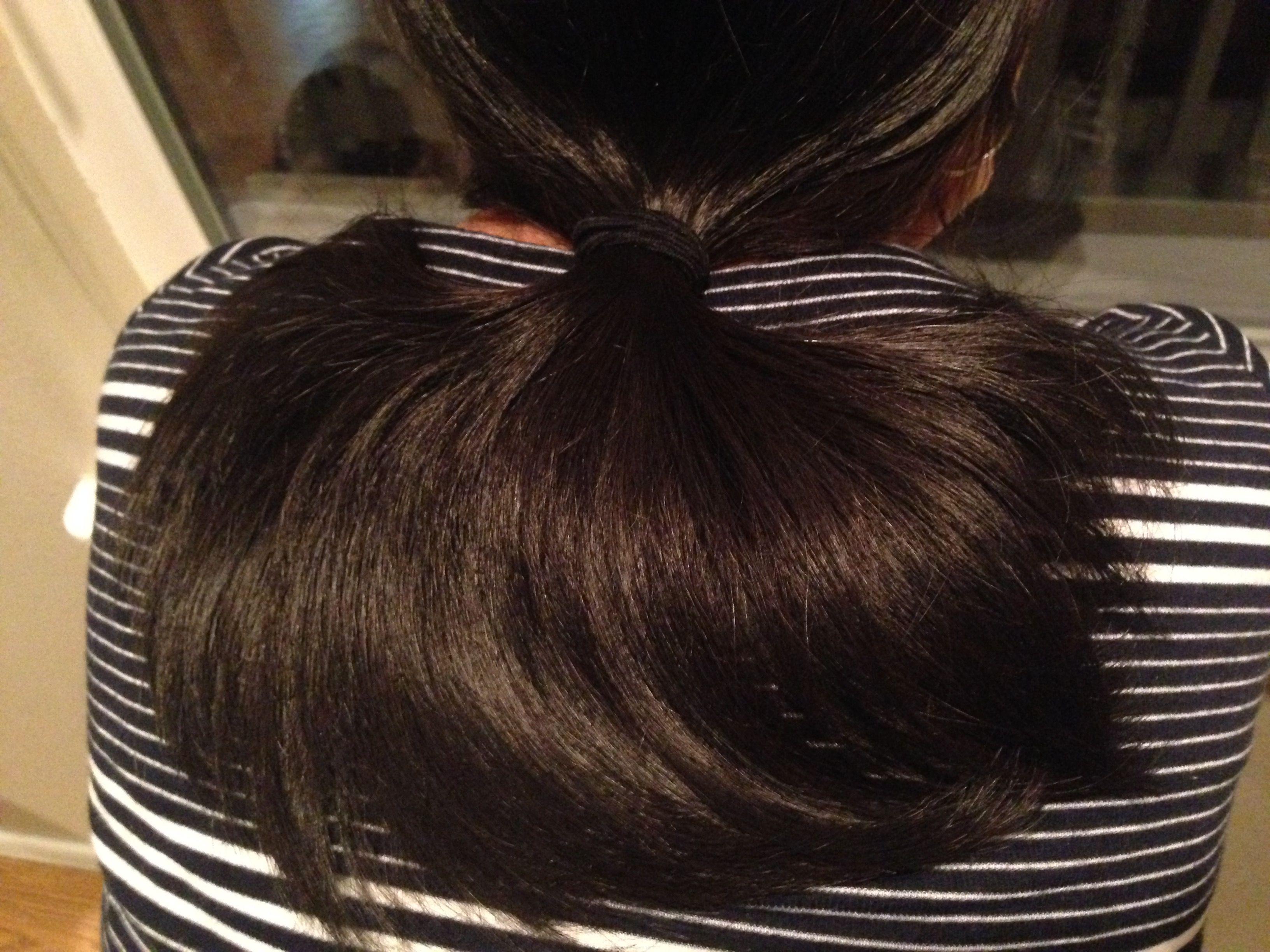 Beautiful and abundant hair