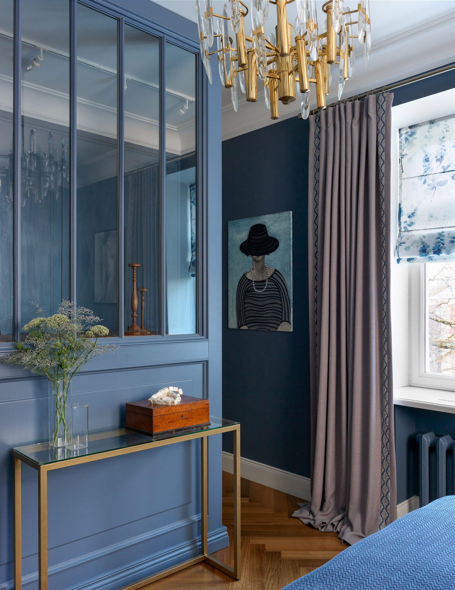 Living Room Interior Design Pdf: Квартира в Петергофе по проекту Марии Пилипенко, 100 м²
