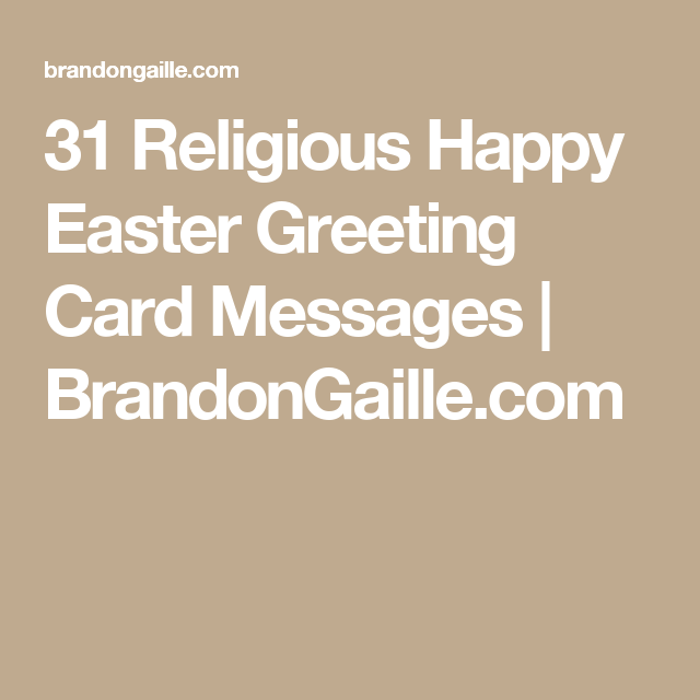 31 religious happy easter greeting card messages happy easter 31 religious happy easter greeting card messages brandongaille m4hsunfo
