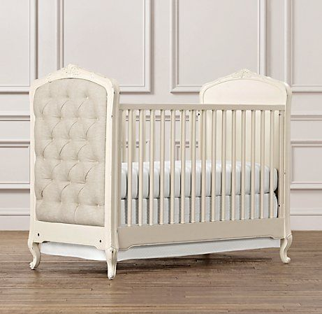 Colette Crib In Ivory From Restoration Hardware Also