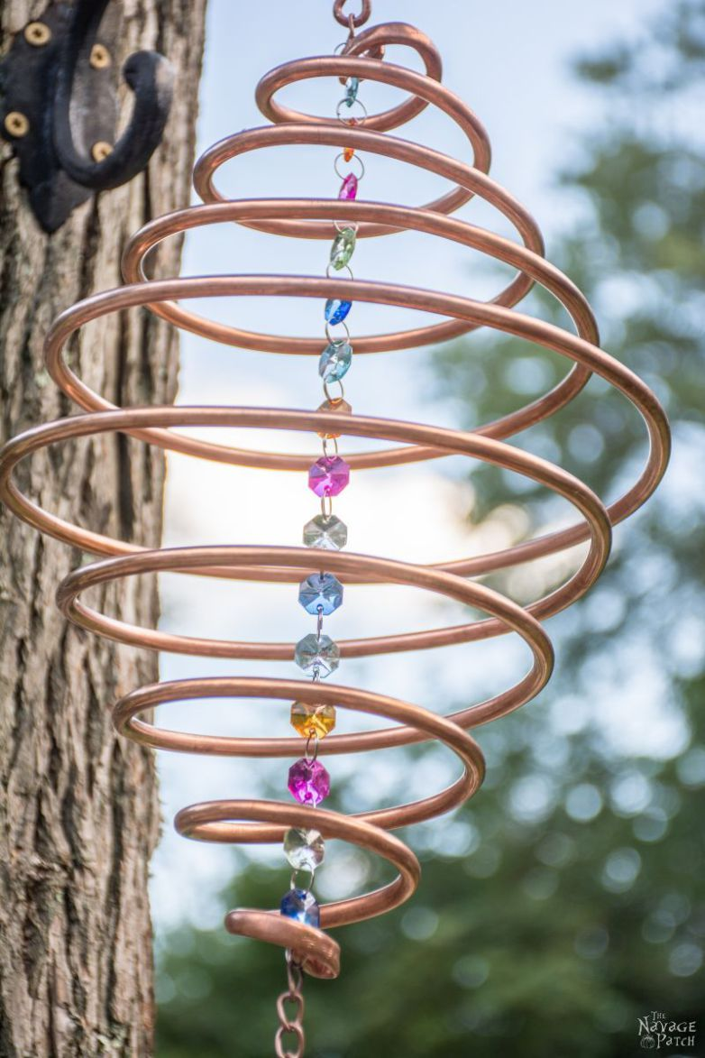 Coiled Copper Wind Chimes Wind Chimes Diy Wind Chimes Copper Diy