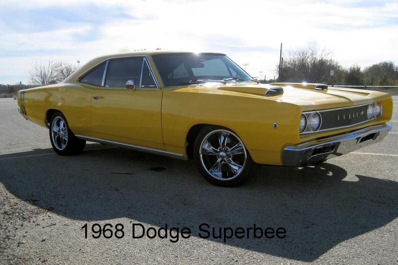 5c714b21 SOLD 68-69 Dodge Coronet Superbee Hood with Scoops - Exterior Parts ...