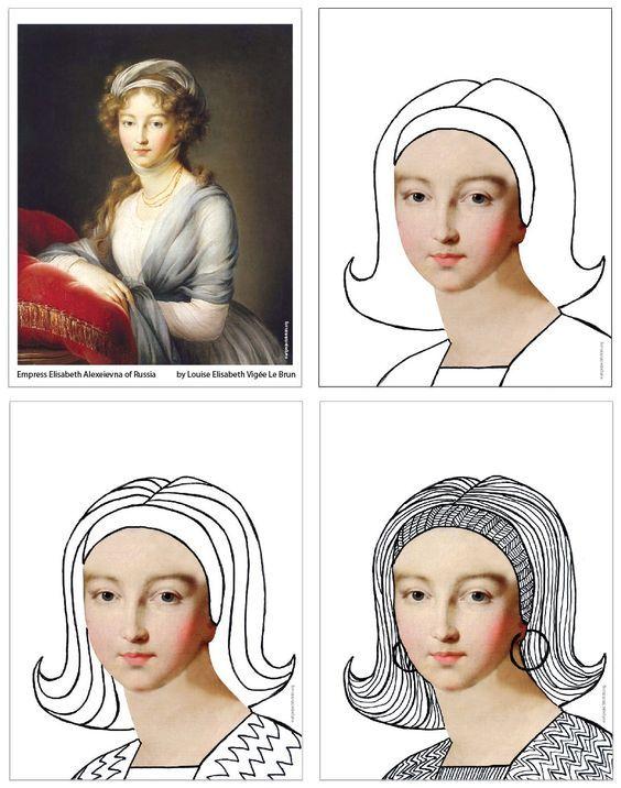 Zentangle avec un visage   Dessin trait, Projets artistiques scolaires, Art élémentaire