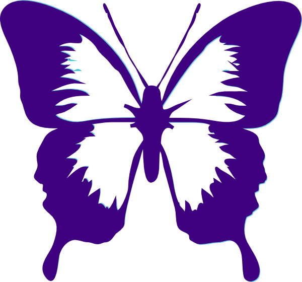 butterfly clip art butterfly clip art butterflies full wing rh pinterest ca pink and purple butterfly clipart