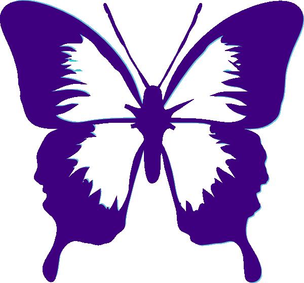 butterfly clip art butterfly clip art butterflies full wing rh pinterest ca purple butterfly clip art free