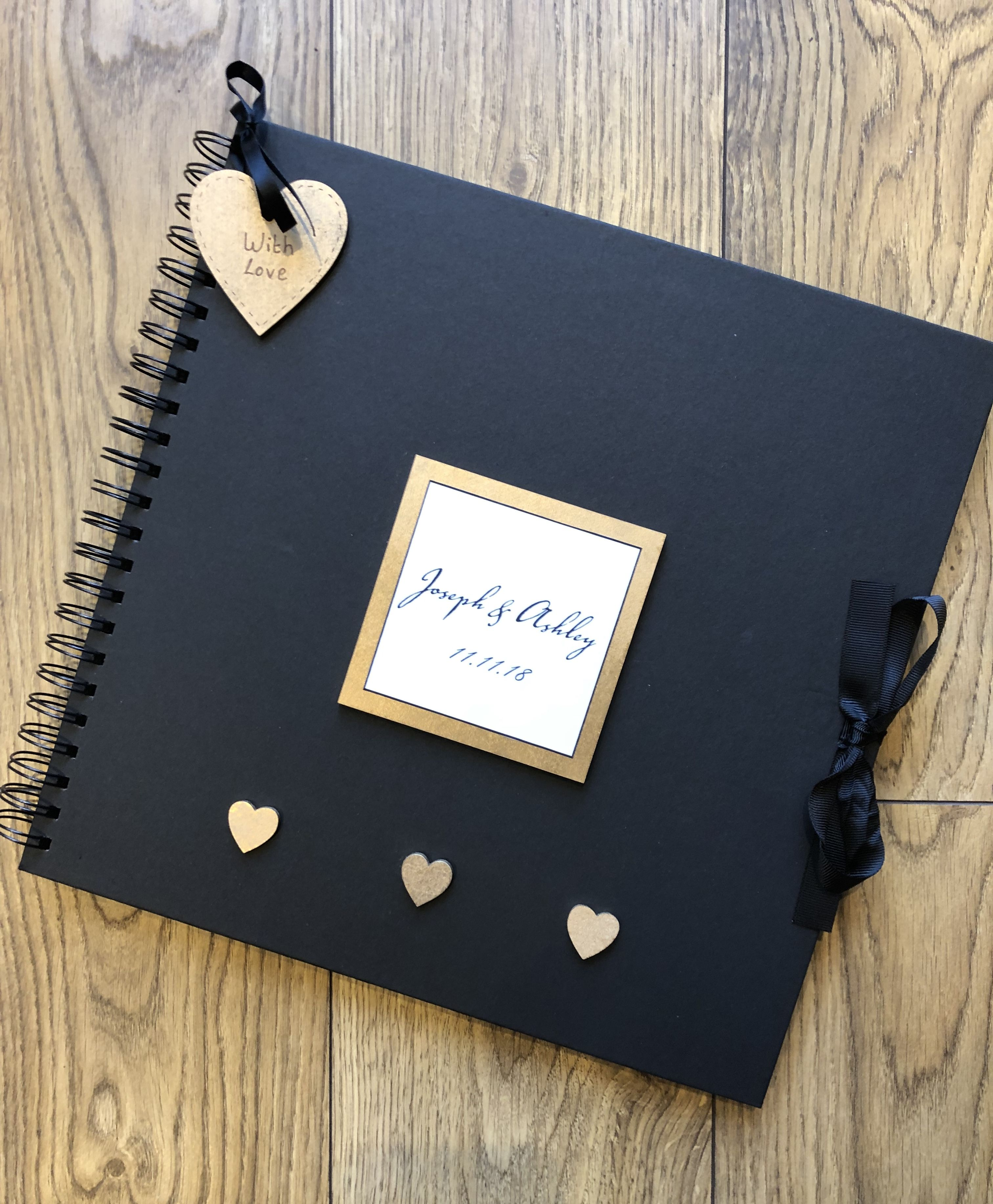 Wedding Engagement Album In 2020 Scrapbook Gift Photo Album Scrapbooking Photo Album Diy