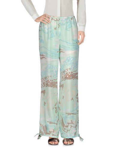 KRISTINA TI Women's Casual pants Light green 6 US
