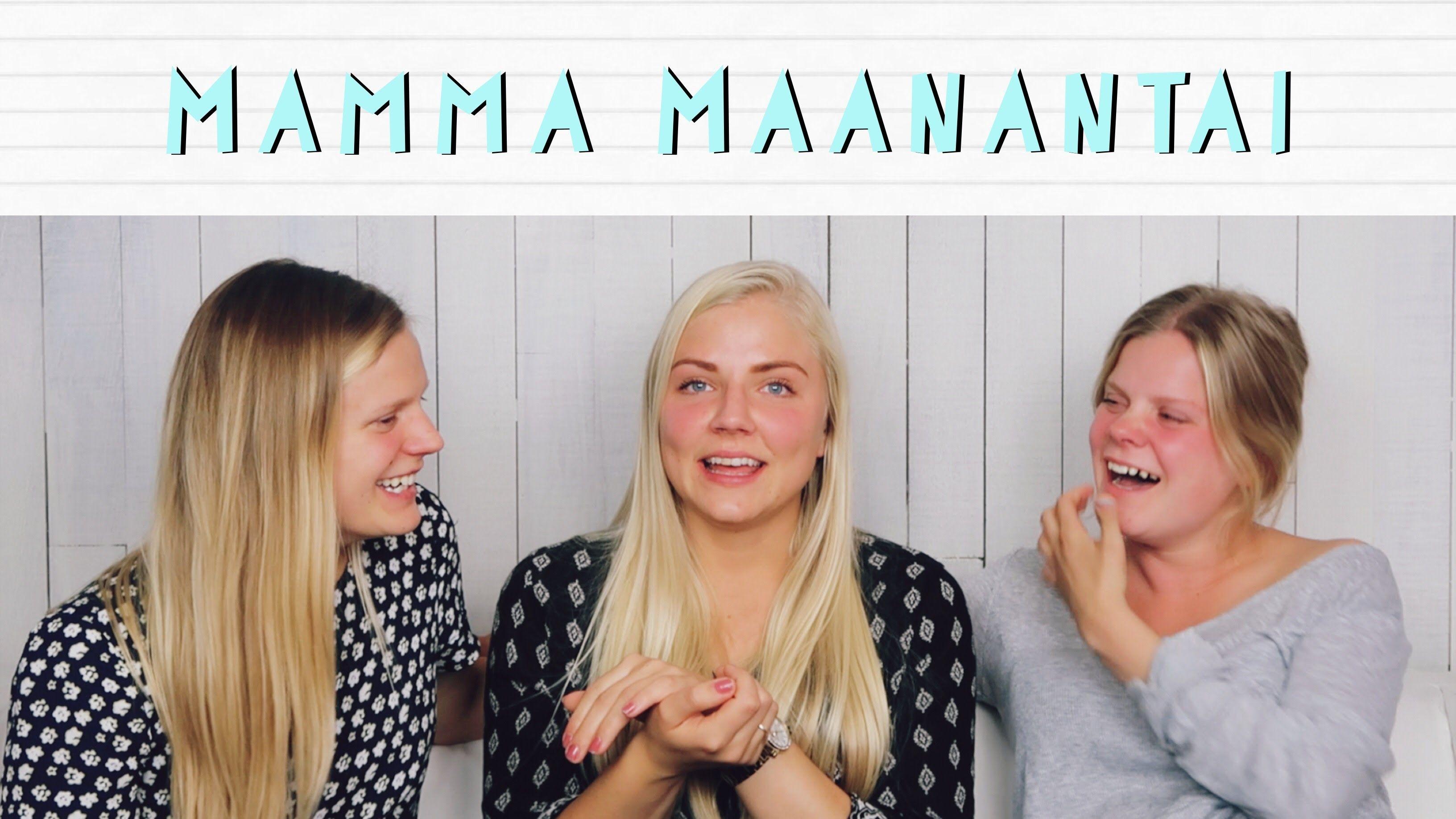 KEHONKUVA JA SYÖMISHÄIRIÖT - MAMMAMAANANTAI