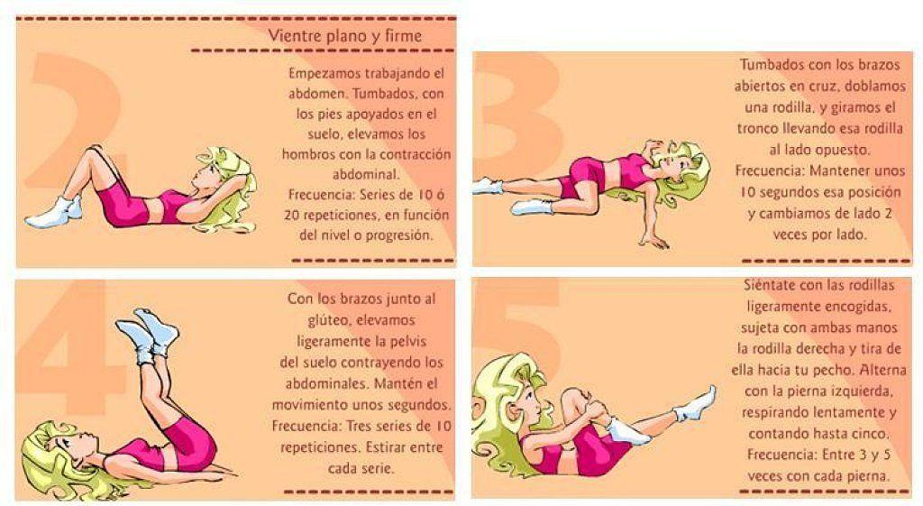 Tabla De Ejercicios Para Un Vientre Plano Y Firme Pilates Workout Yoga Routine Yoga Pilates