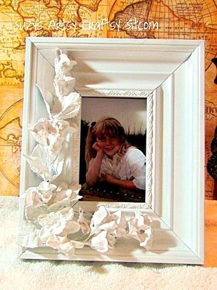 how to make a faux porcelain frame, home decor, how to