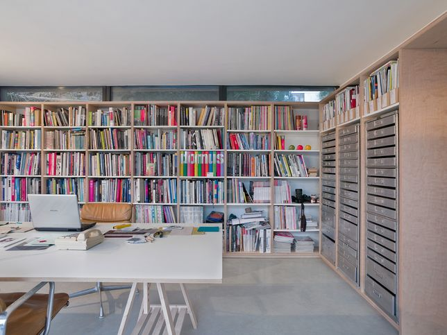 bookcase wall shelving