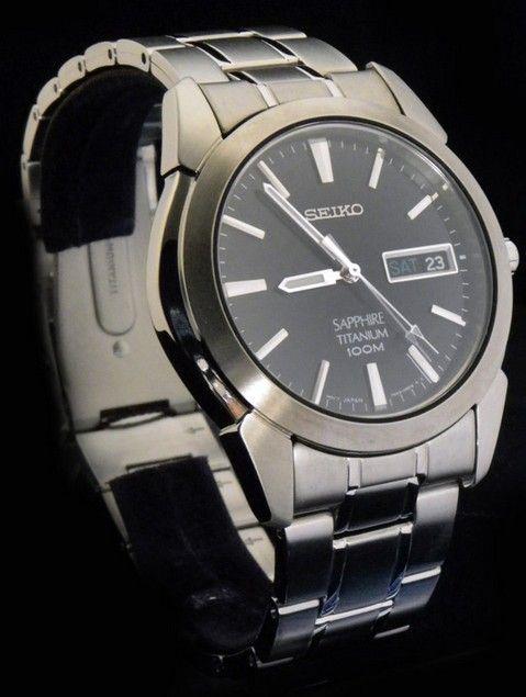 designer fashion 51eec b350b Montre Homme Seiko SGG729P1 Quartz, bracelet et boîtier en ...