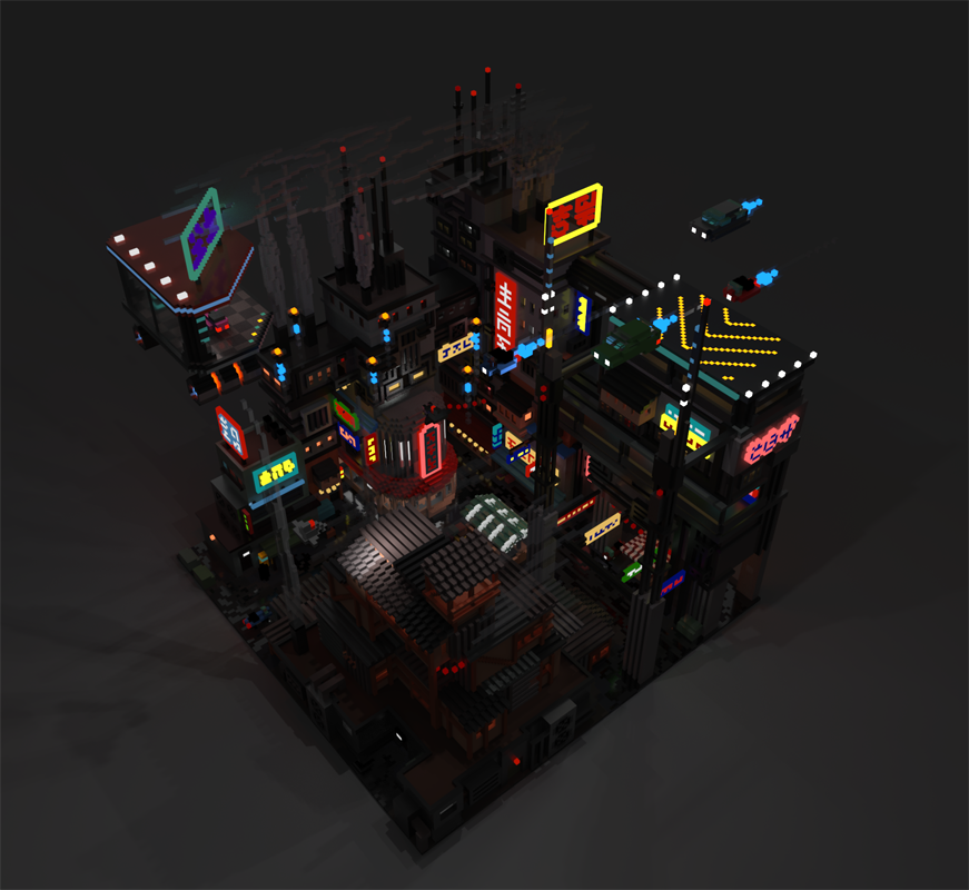 I started learning how to make voxel art a few weeks ago  Here's my