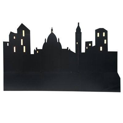 $170, 3 sections, 4' - 9' tall Destination Downtown Cityscapes Kit (set of 3)