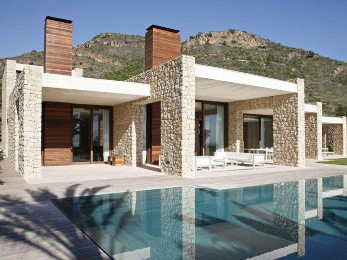 Moderne Fassaden 56 ausgefallene ideen für moderne fassaden