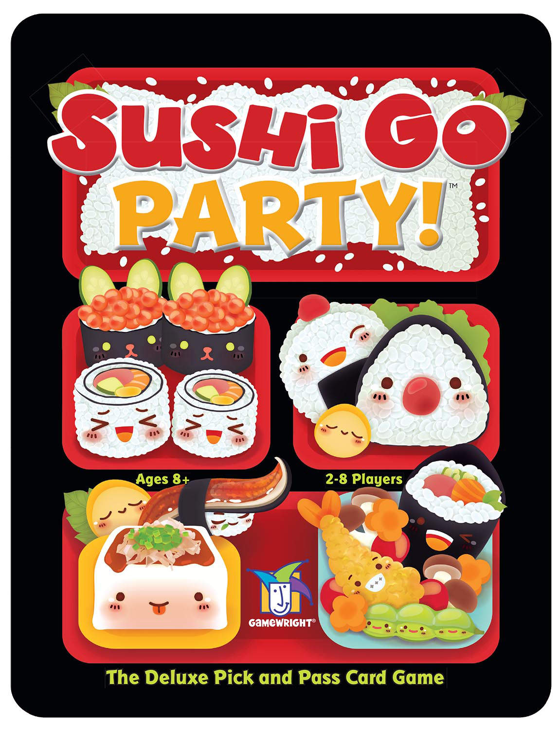Cuisine Gameplay Switch Up The Gameplay Sushi Go Party Deluxe Lets You Choose