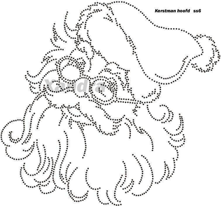 Kerstman legevorlagen pinterest fadengrafik weihnachten und fadengrafik weihnachten - Fadenkunst vorlagen ...
