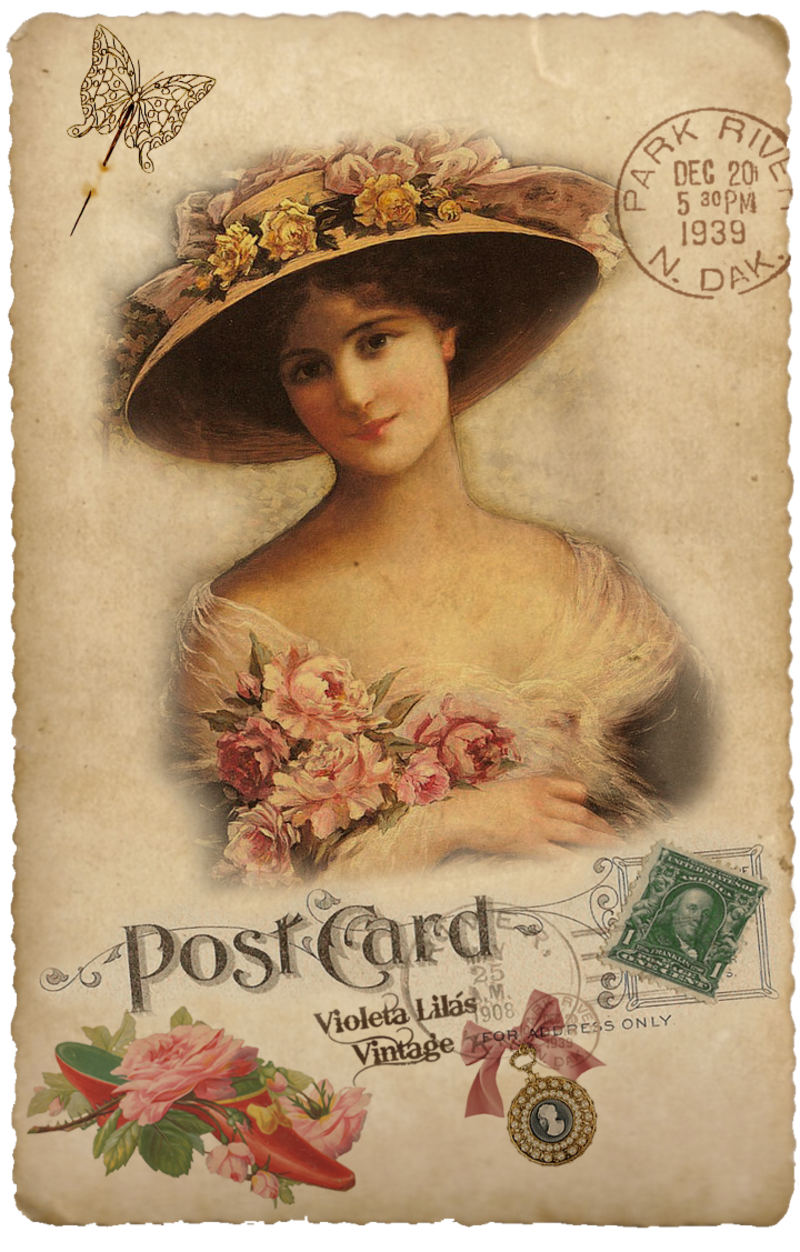 1000 Images About Retro Vintage On Pinterest: Dama_rosa.png (avec Images)