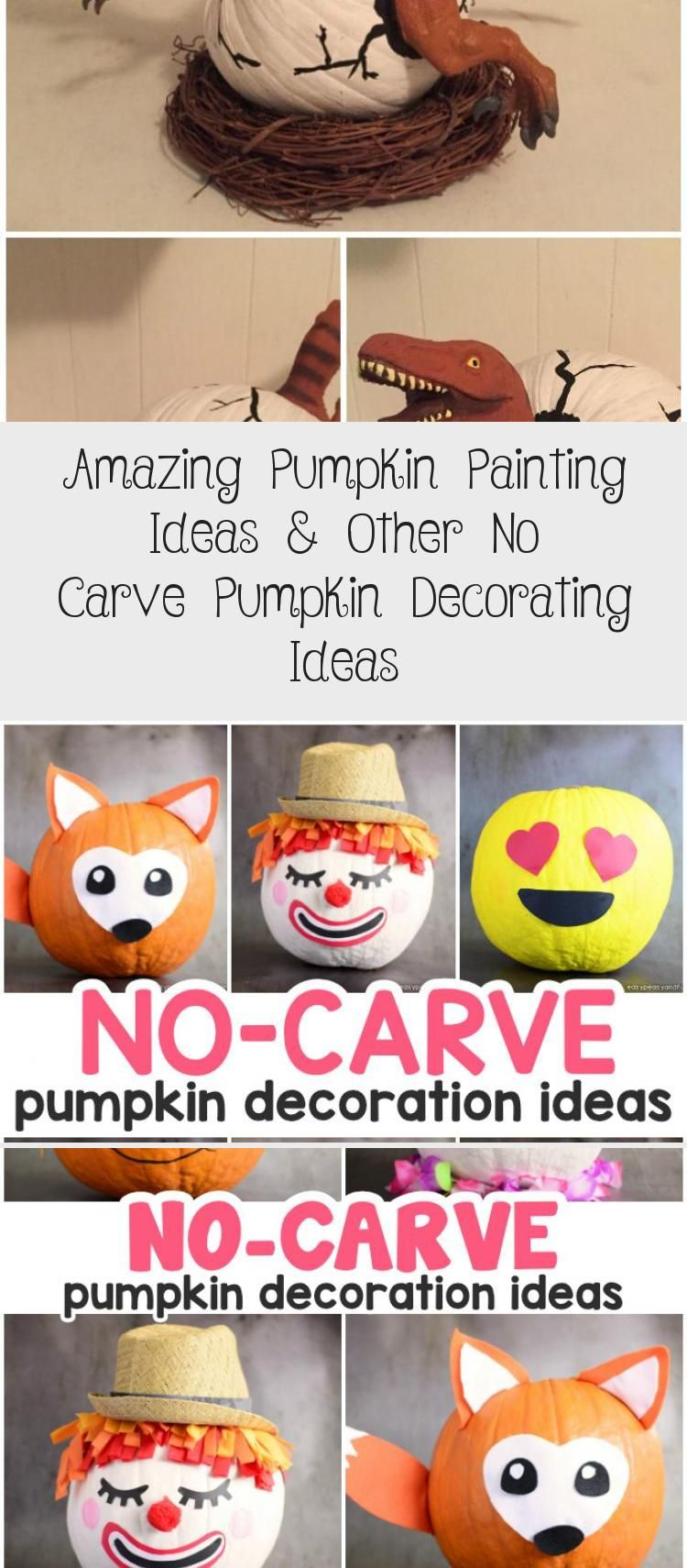 Amazing Pumpkin Painting Ideas & Other No Carve Pumpkin Decorating Ideas #paintingideasAbstract #paintingideasForFurniture #paintingideasBeach #paintingideasVsco #paintingideasForKitchen #pumpkinpaintingideas