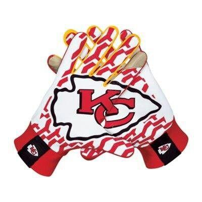 Chiefs Chiefs Football Football Gloves Nike Nfl
