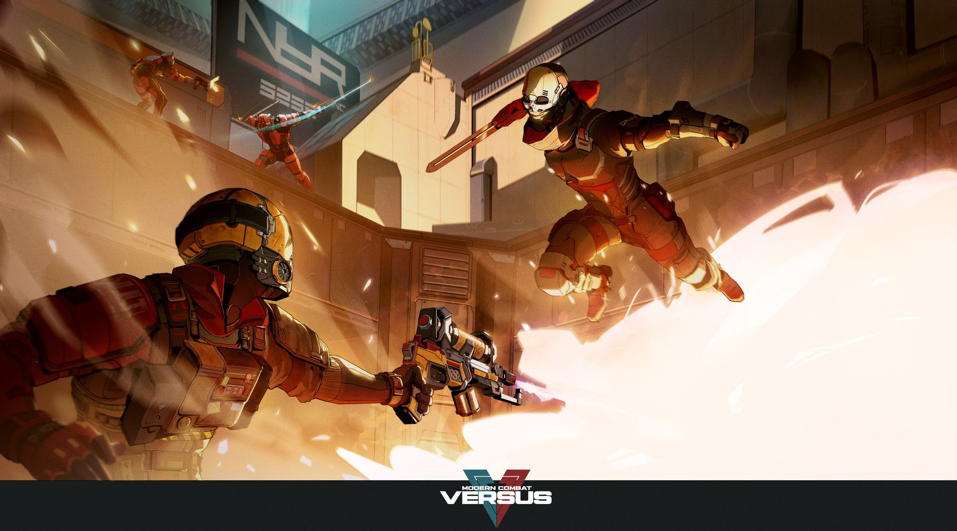 Artstation Modern Combat Versus Promo Art 1 Hugo Richard Combat Art Art Sci Fi Fantasy