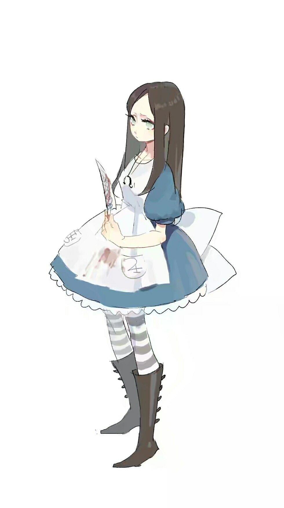 Alice Madness Returns Desenhos Lindos Desenhos Alice