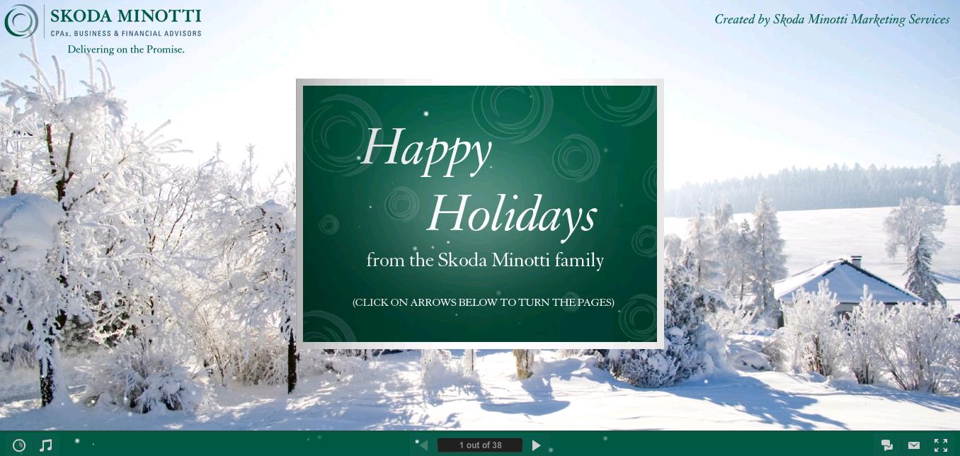 Skoda Minotti http://www.skodaminotti.com/ecard/ | Holiday Card ...