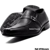 0be7ec4b4 Sapato Social Masculino Couro Elastico Bico Quadrado Barato | Roupas ...