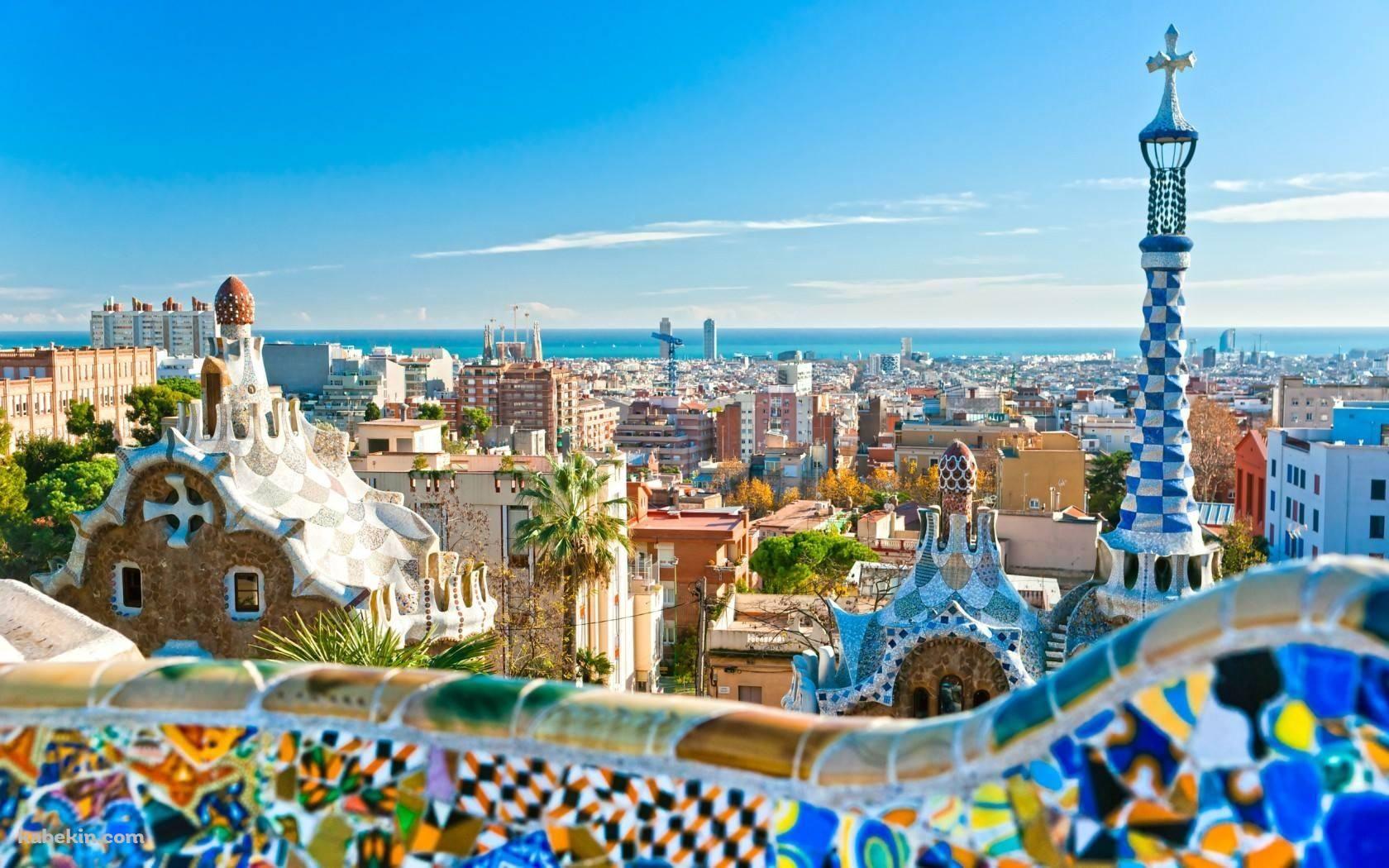 バルコニーから観る美麗な景観 1680 X 1050 の壁紙 壁紙キングダム Pc デスクトップ版 旅行 スペイン バルセロナおすすめ観光スポット