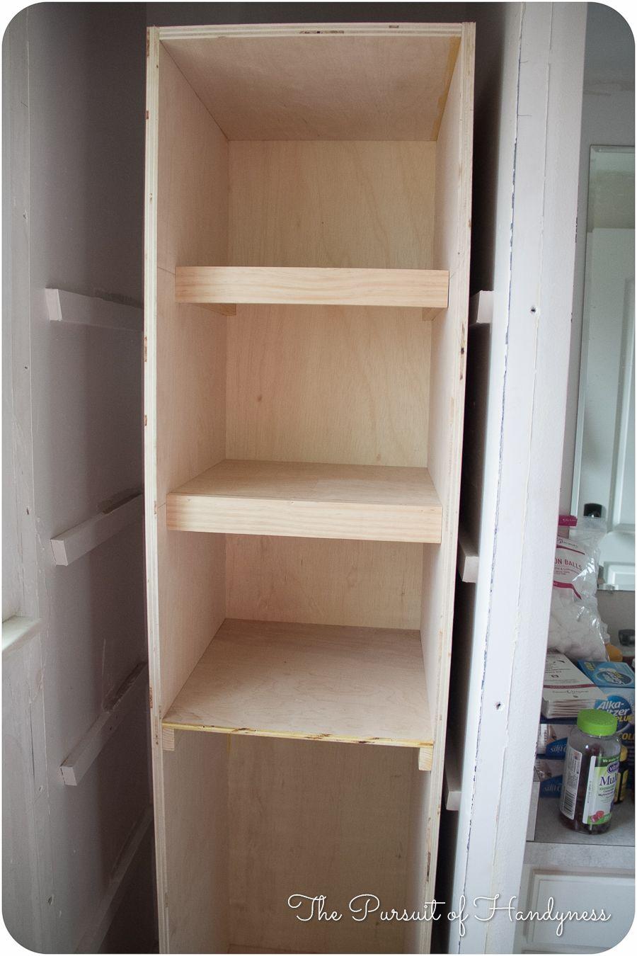 I M Building Again Linen Cabinet Bathroom Linen Cabinet Linen Cabinet Bathroom Cabinets Diy