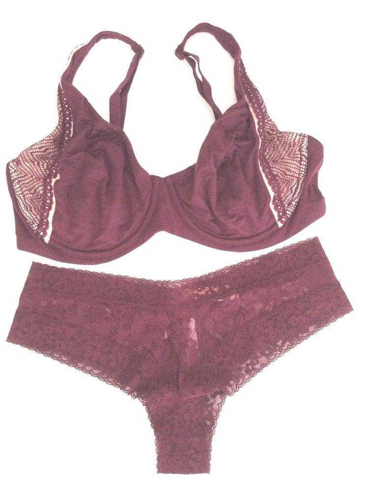 NEW! Victoria's Secret Unlined Lace Three Hook Demi Bra