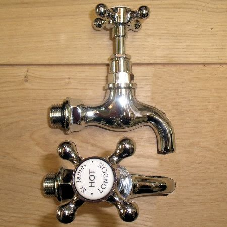 Belfast Sink Taps and fittings from Cox\'s Yard @ Moreton in Marsh ...